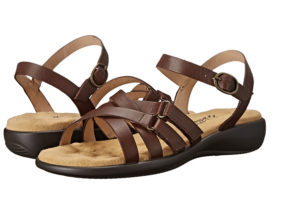 Walking Cradles - Sleek (Tobacco Nappa) Women's Sandals