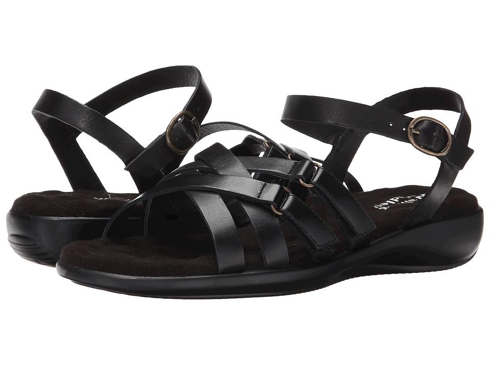 Walking Cradles - Sleek (Black Nappa) Women's Sandals