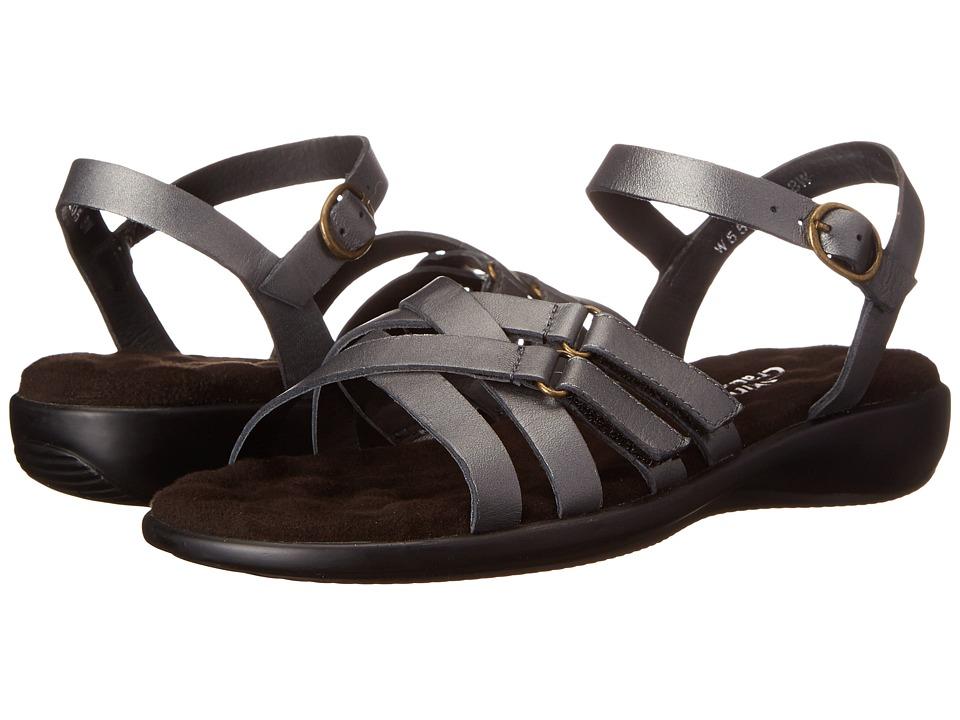 Walking Cradles - Sleek (Pewter Nappa) Women's Sandals