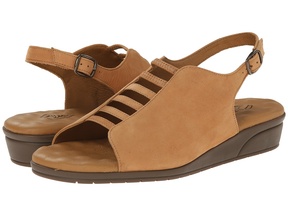 Walking Cradles - Vex (Camel Nubuck) Women's Sandals