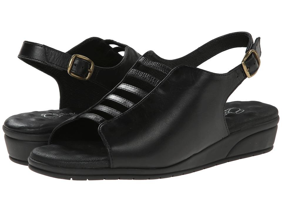Walking Cradles - Vex (New Black Softy) Women's Sandals