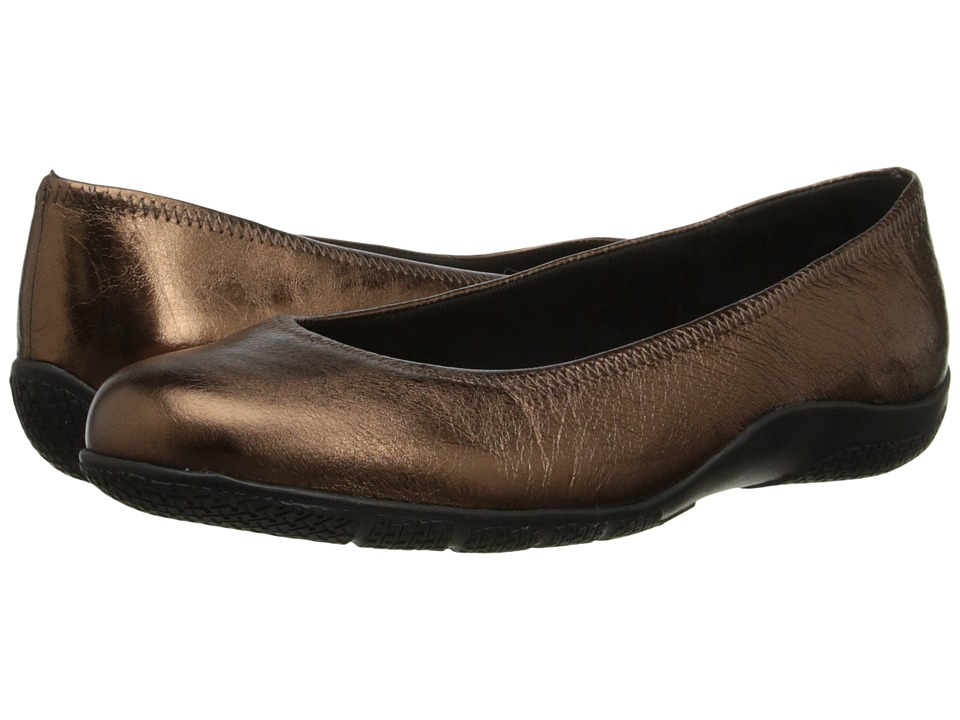 Walking Cradles - Dee (New Copper Metallic) Women's Flat Shoes