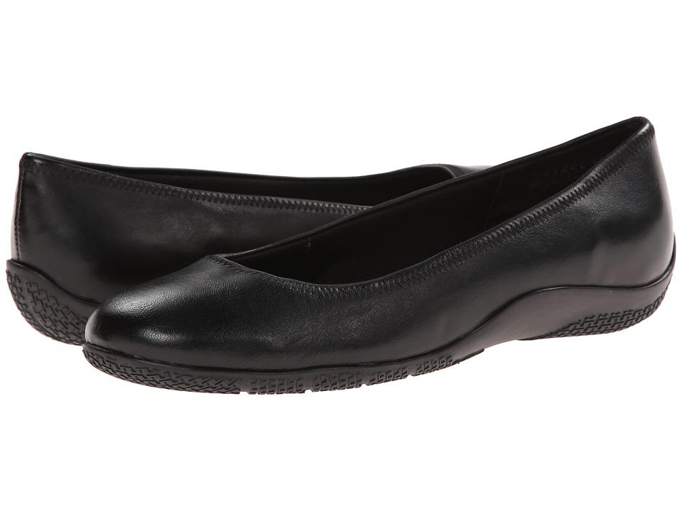 Walking Cradles - Dee (Black Nappa) Women's Flat Shoes