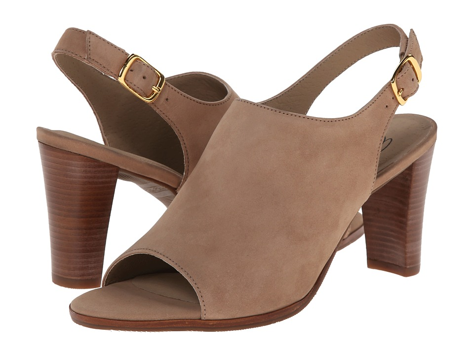 Walking Cradles Gwen (Light Taupe Nubuck) Women