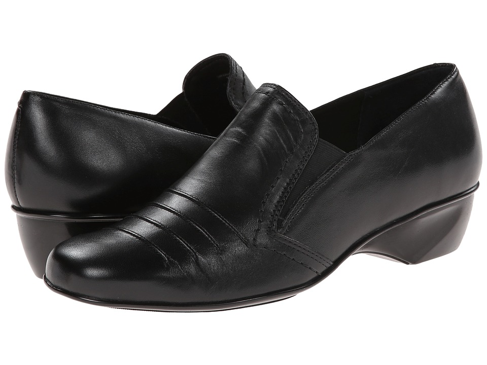 Walking Cradles - Tilt (Black Soft Maia Leather) Women