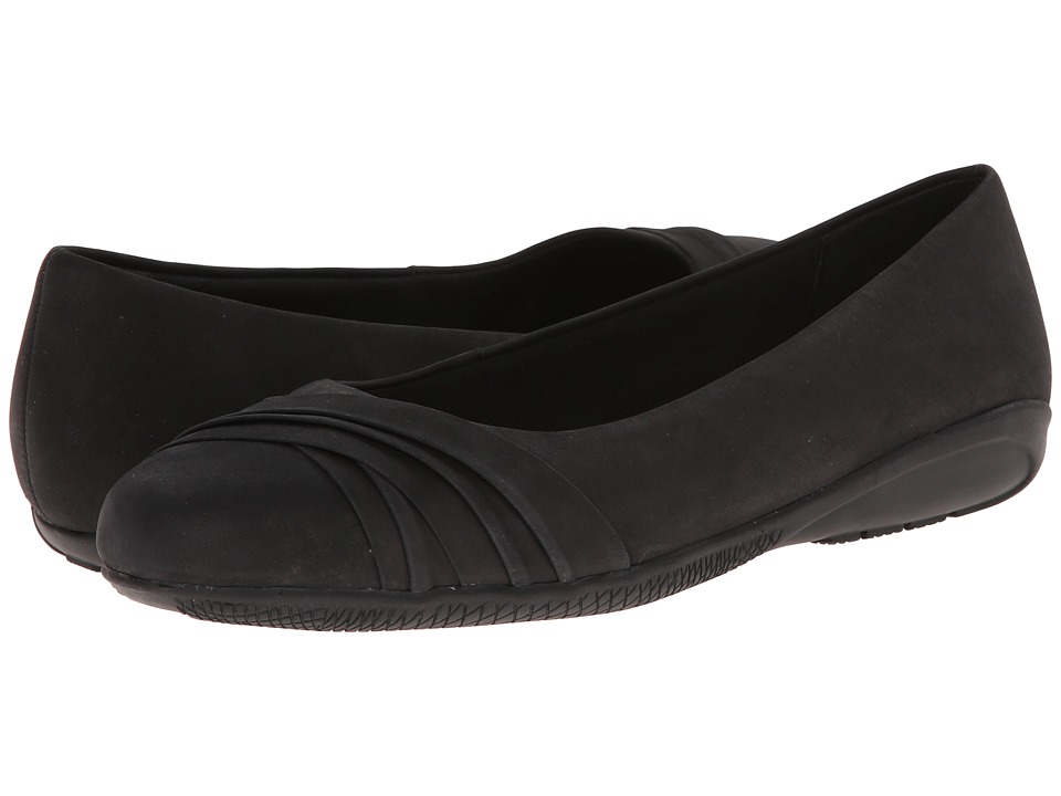 Walking Cradles Flick (Black Nubuck) Women