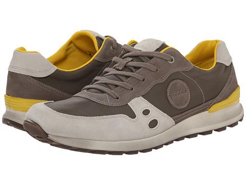 ECCO - CS14 Retro Sneaker (Gravel/Warm Grey/Warm Grey) Men's Shoes