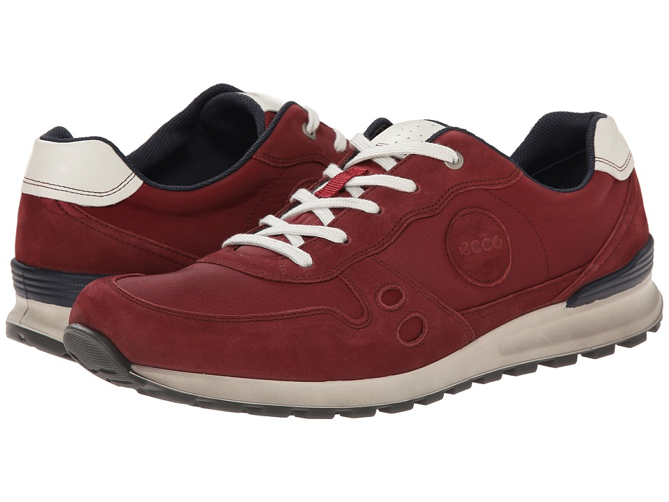ECCO - CS14 Retro Sneaker (Port/Brick) Men's Shoes