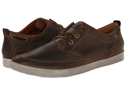 ECCO - Collin Nautical Sneaker (Camel/Cocoa Brown) Men's Shoes