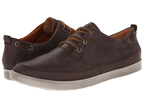 ECCO - Collin Nautical Sneaker (Mocha/Cocoa Brown) Men's Shoes