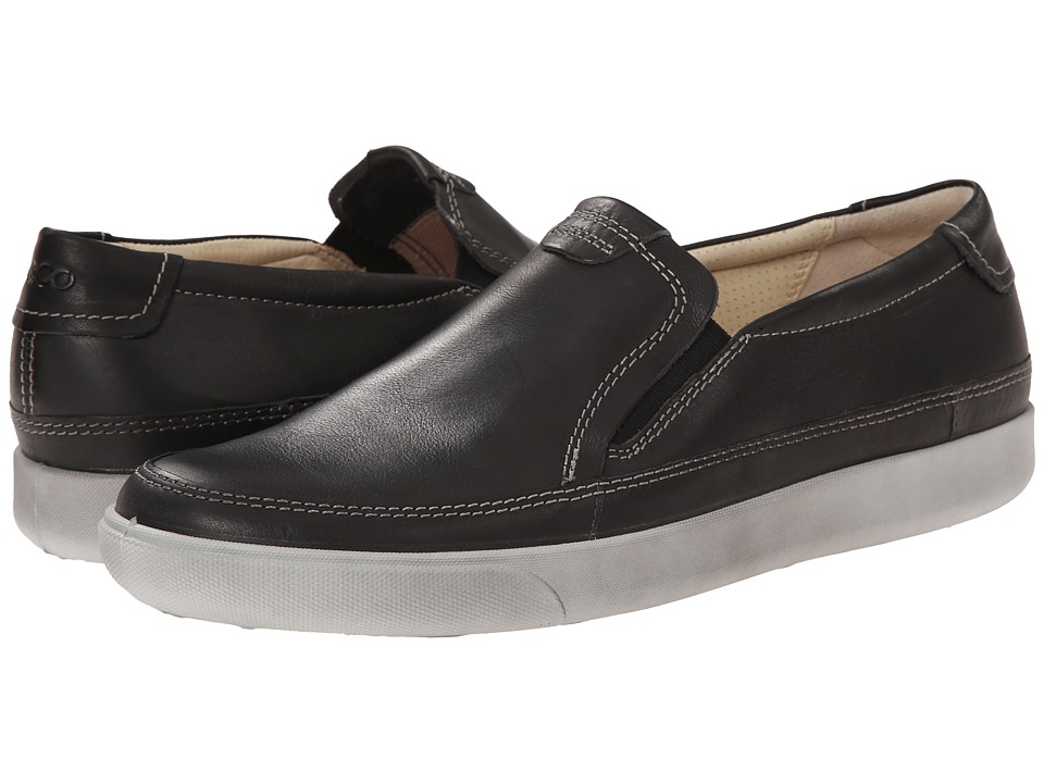ECCO - Gary Slip-On (Slate) Men's Slip on Shoes