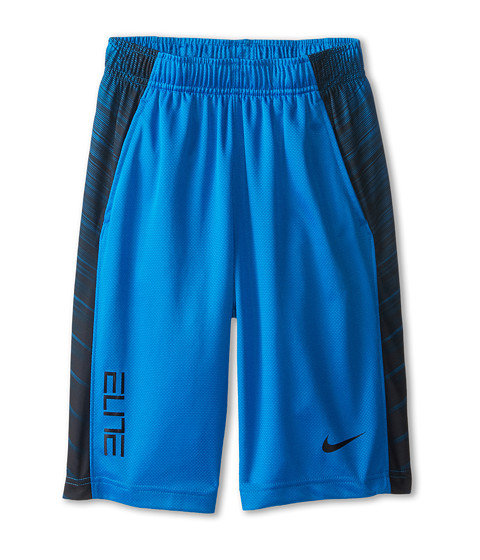 Nike Kids - Elite Wing Short (Little Kids/Big Kids) (Photo Blue/Black/Black/Black) Boy