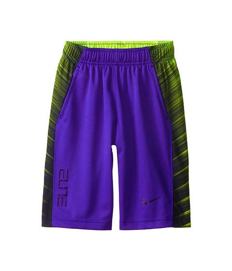 Nike Kids - Elite Wing Short (Little Kids/Big Kids) (Persian Violet/Ink/Ink/Ink) Boy's Shorts