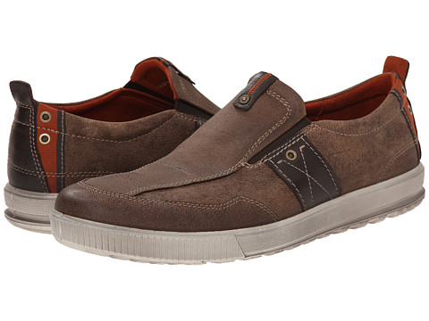 ECCO - Ennio Casual Slip-On (Cocoa Brown/Mocha) Men's Slip on Shoes