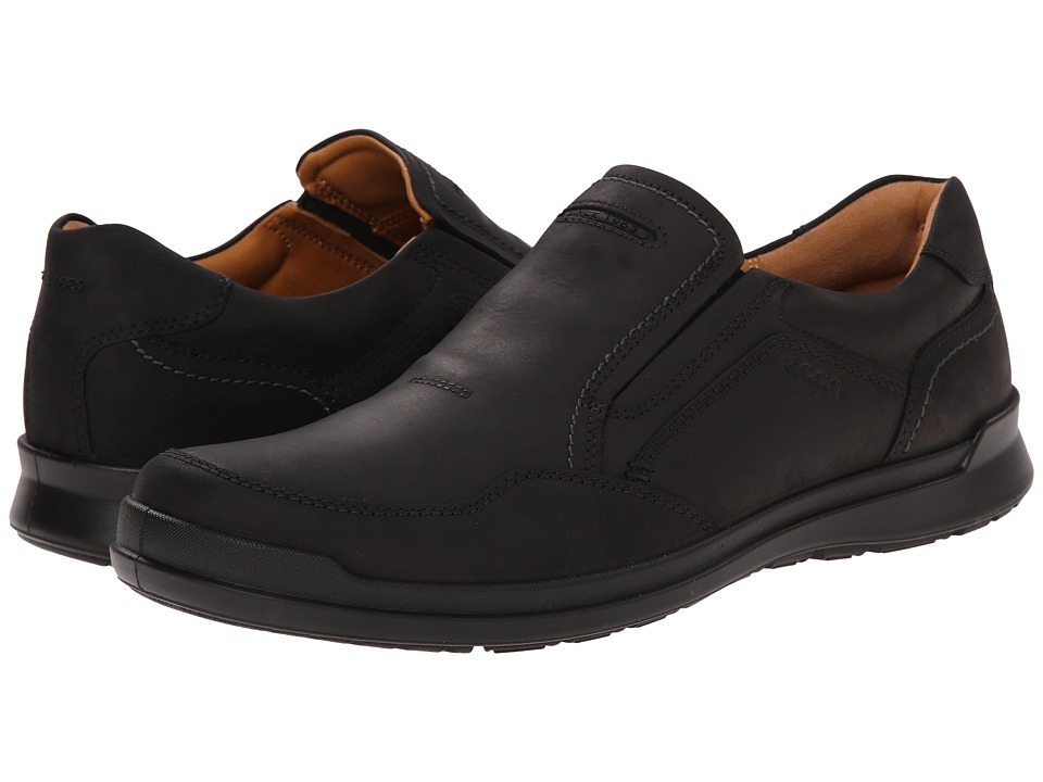 ECCO - Howell Slip-On (Black) Men's Shoes