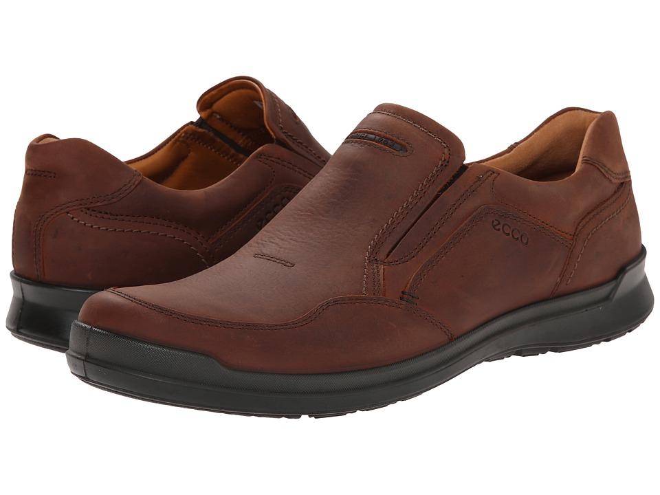 ECCO - Howell Slip-On (Cognac) Men's Shoes
