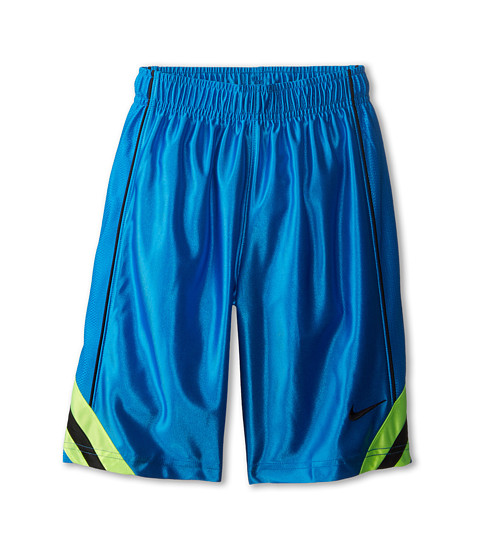 Nike Kids - Dunk Short V2 (Little Kids/Big Kids) (Photo Blue/Volt/Black/Black) Boy's Shorts