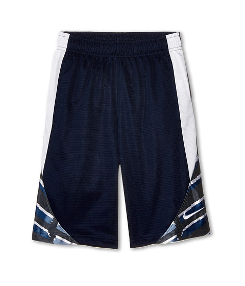 Nike Kids - Avalanche GFX 2.0 Short (Little Kids/Big Kids) (Obsidian/White Cool Grey/White) Boy