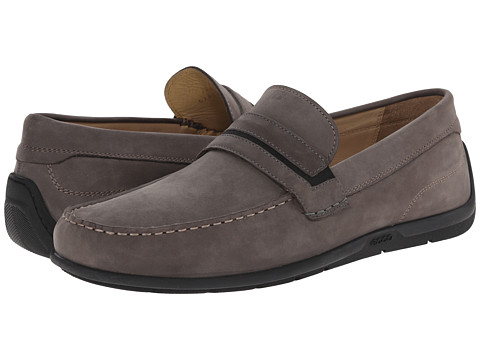 ECCO - Classic Moc 2.0 Penny (Dark Shadow) Men's Shoes