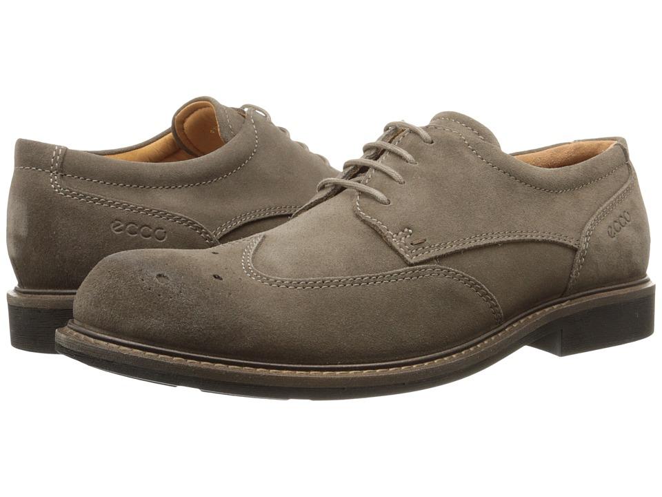 ECCO - Findlay Brogue Tie (Dark Clay) Men's Shoes