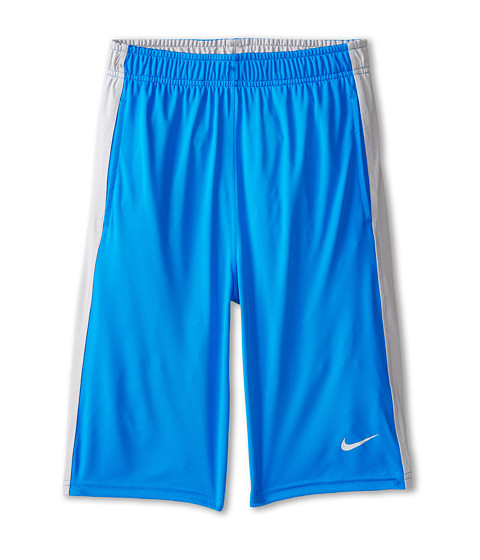 Nike Kids - Fly Short (Little Kids/Big Kids) (Photo Blue/Wolf Grey/Wolf Grey) Boy