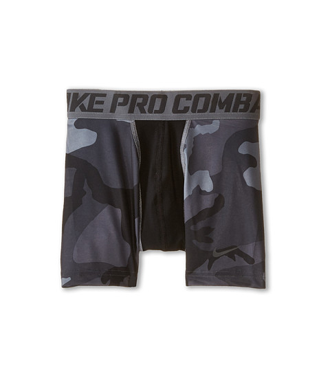 Nike Kids - NPC Core Comp GFX Short (Little Kids/Big Kids) (Anthracite/Anthracite) Boy's Shorts