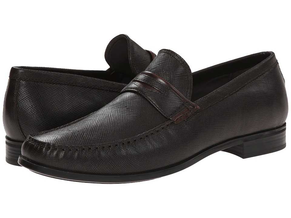 ECCO - Dress Moc Penny (Espresso/Coffee) Men's Shoes