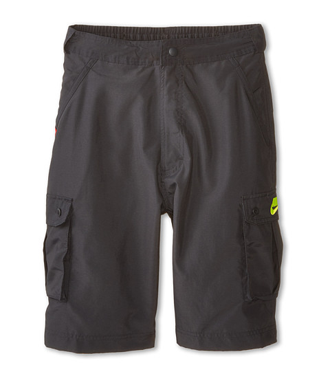 Nike Kids - Cargo Short (Little Kids/Big Kids) (Anthracite/Volt/Volt) Boy's Shorts