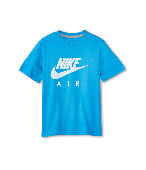 Nike Kids - Cat HBR HD Tee (Little Kids/Big Kids) (Light Photo Blue/Dark Grey Heather) Boy's T Shirt