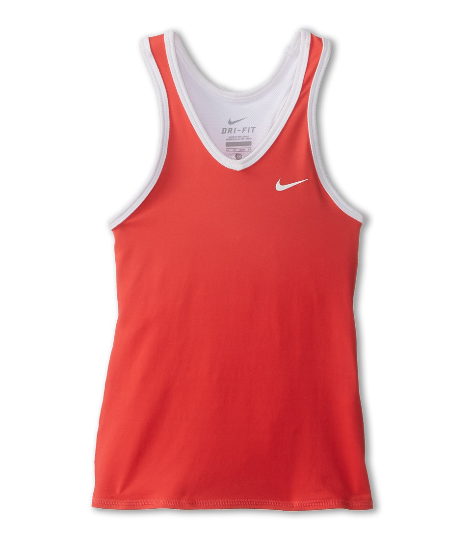 Nike Kids - Advantage Court Tank (Little Kids/Big Kids) (Daring Red/White/White/White) Girl's Sleeveless