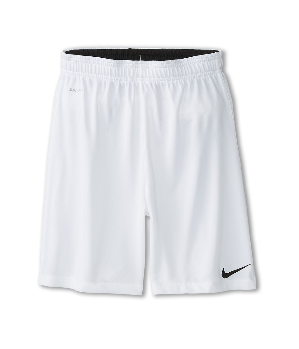 Nike Kids - Academy Longer Knit Short 2 (Little Kids/Big Kids) (White/Black/Black) Boy's Shorts