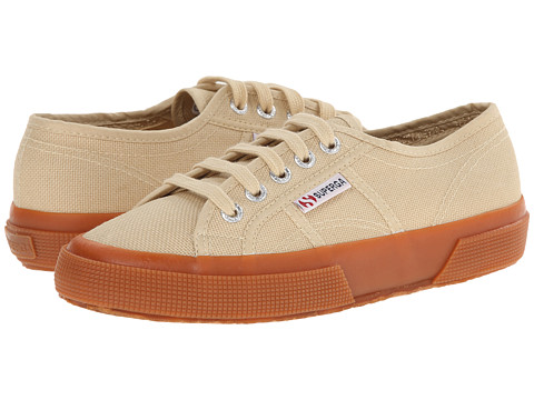 Superga - 2750 Cotu Classic (Camel Multi) Lace up casual Shoes