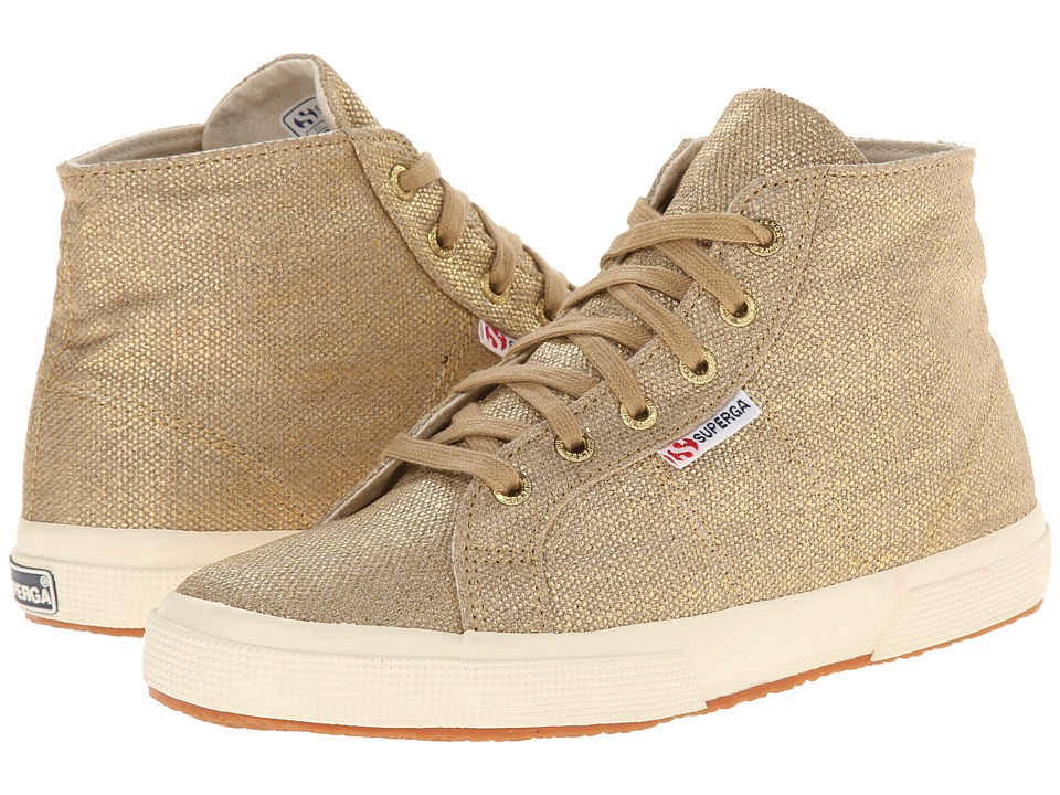 Superga - 2095 Metallic Linen (2095 Metallic Linen Gold) Women