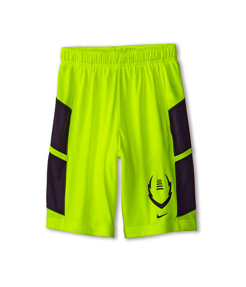 Nike Kids - Football Training Short (Little Kids/Big Kids) (Volt/Anthracite/Anthracite) Boy's Shorts