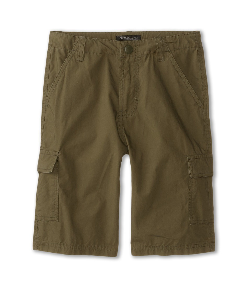 O'Neill Kids - Hammer Light (Little Kids) (Military Green) Boy's Shorts