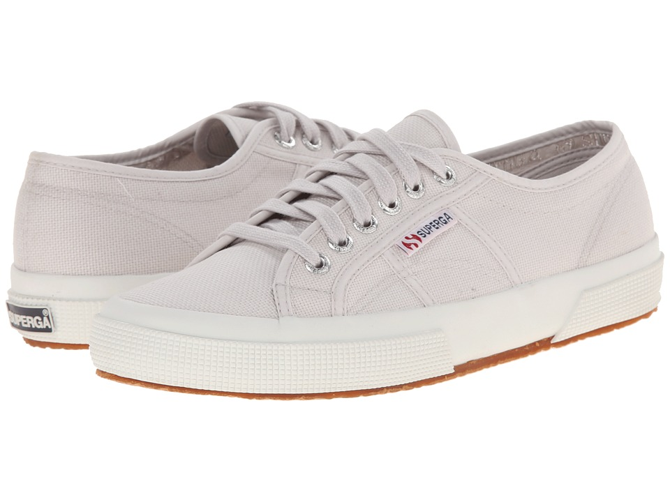 Superga - 2750 COTU Classic (Grey Seashell) Lace up casual Shoes