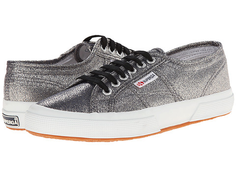 Superga - 2750 LAMEW (Grey) Women's Lace up casual Shoes