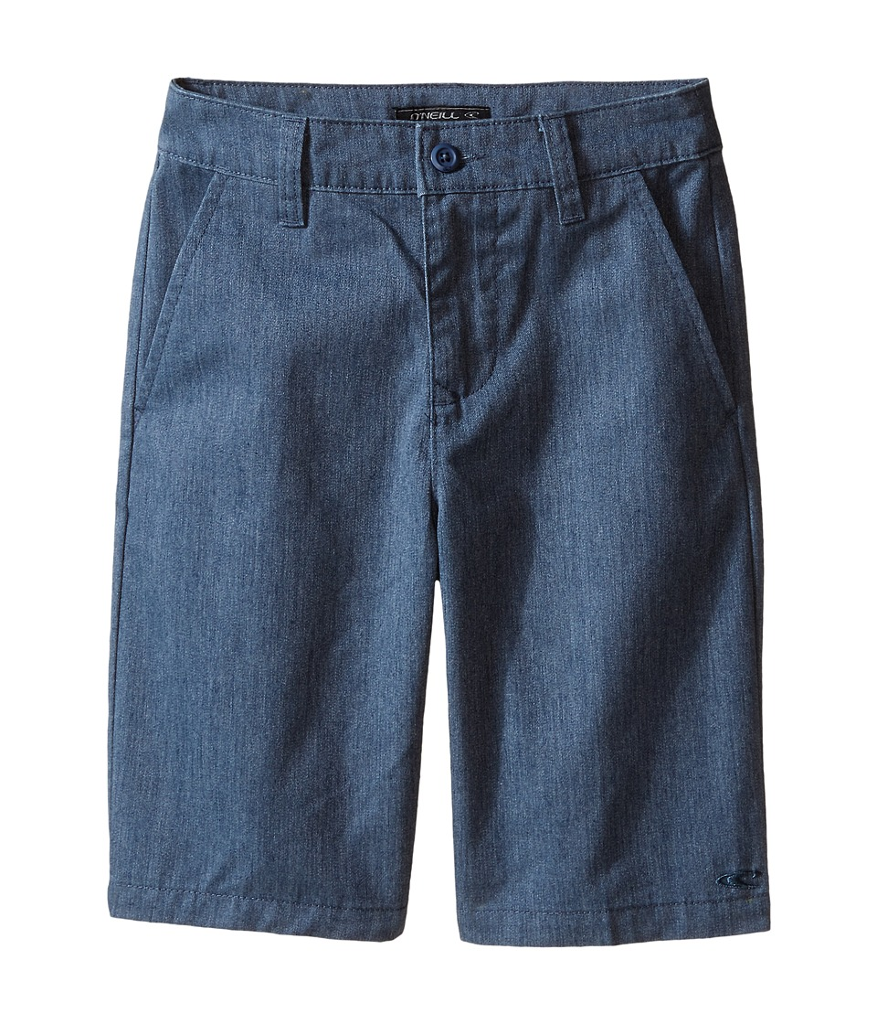 O'Neill Kids - Contact (Big Kids) (Blue Heather) Boy's Shorts
