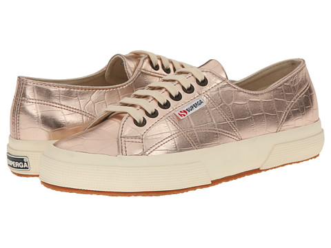 Superga - 2750 Metcrocw (Rose Gold) Women's Lace up casual Shoes