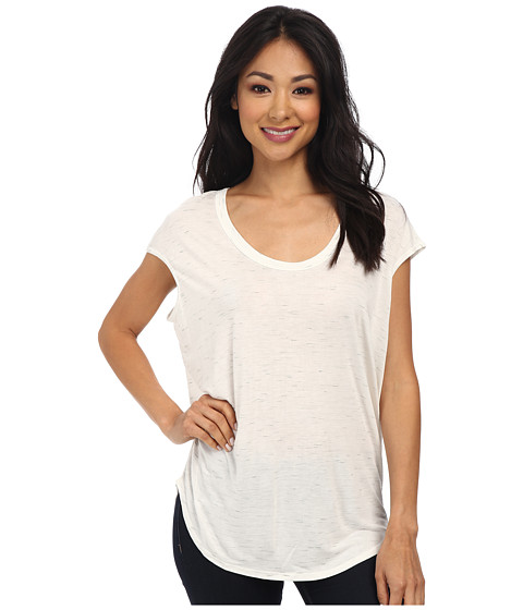 LNA - Wheel Tee (White Slub) Women