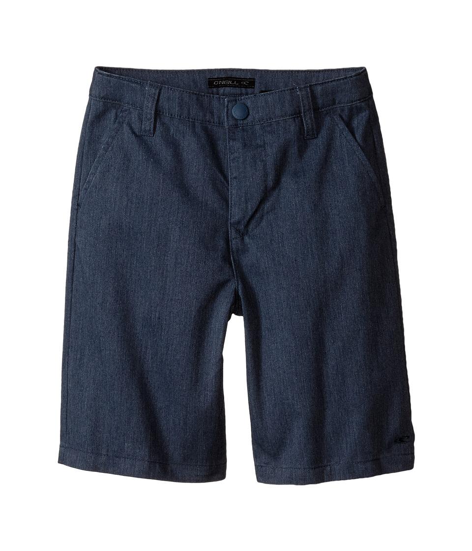 O'Neill Kids - Contact (Little Kids) (Blue Heather) Boy's Shorts