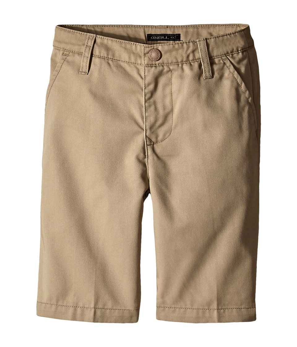 O'Neill Kids - Contact (Little Kids) (O'Neill Khaki) Boy's Shorts