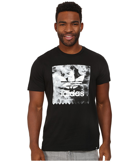 adidas Skateboarding - Burned Stamp Tee (Black) Men