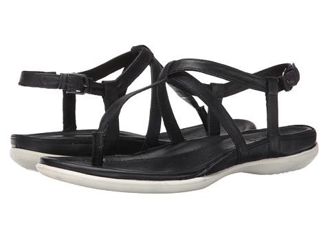 ECCO - Flash T-Strap Sandal (Black) Women