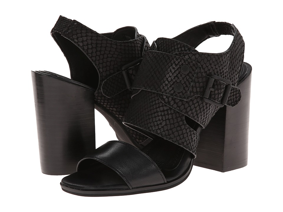Calvin Klein Jeans - Bellany (Black Leather) High Heels