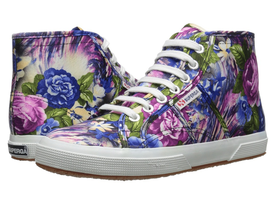 Superga - 2095 Cotw Fabric 28 (Violet Flower Multi) Women