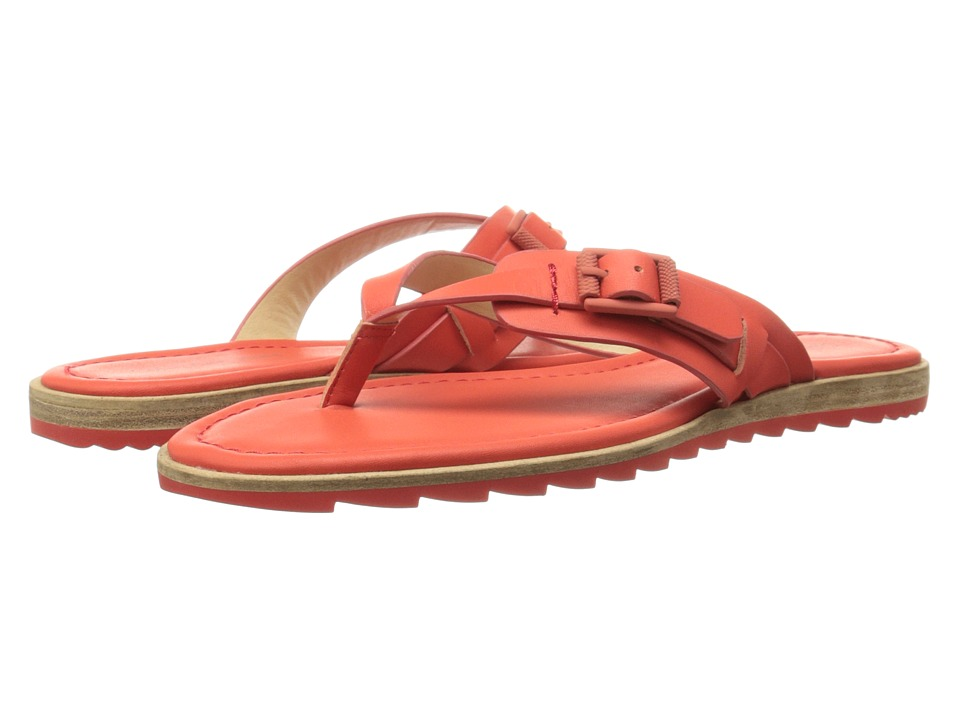 Calvin Klein Jeans - Opel (Scarlet Vachetta Leather) Women's Sandals