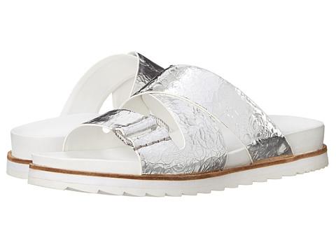 Calvin Klein Jeans - Valeri (Silver Metallic) Women's Slide Shoes