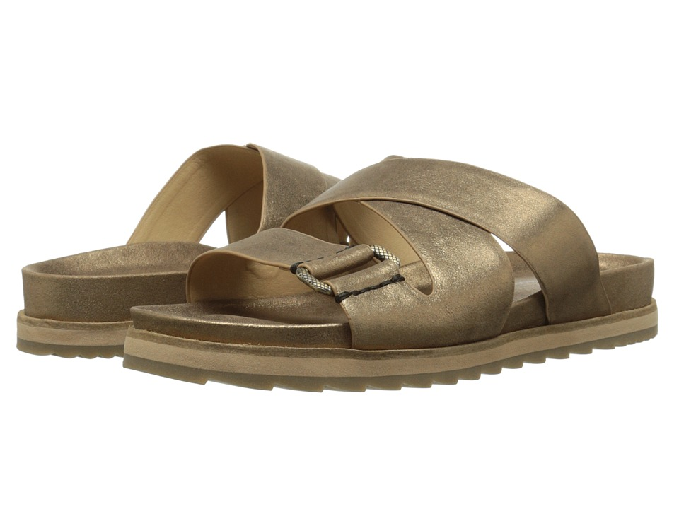 Calvin Klein Jeans - Valeri (Bronze Dusty Suede) Women's Slide Shoes