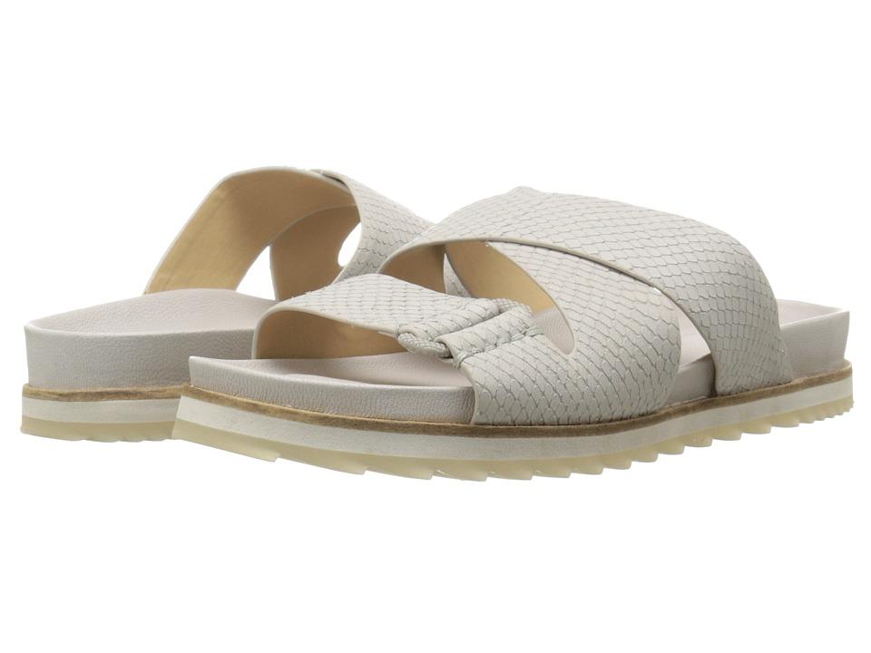 Calvin Klein Jeans - Valeri (Cloud Leather) Women's Slide Shoes